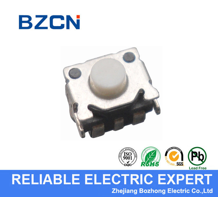 Smile Face Push Button Switch SMD Metal Horizontal Tact Switch 2.56X4.5 Mm