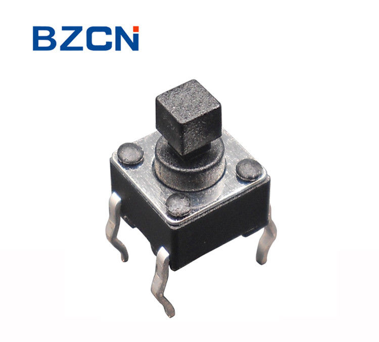 Through Hole Terminal Surface Mount Tactile Switch ALPS Square Button